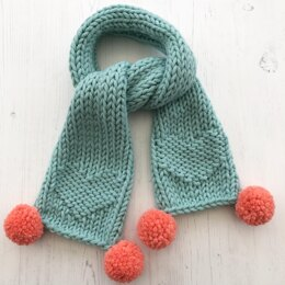 Candy Heart Scarf