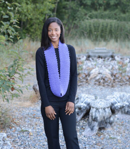 All Seasons Cowl in Cascade Yarns North Shore - DK588 - Downloadable PDF