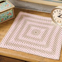 Sophisticated Square Doily in Aunt Lydia's Bamboo Crochet Thread Size 10 - LC2682 - Downloadable PDF