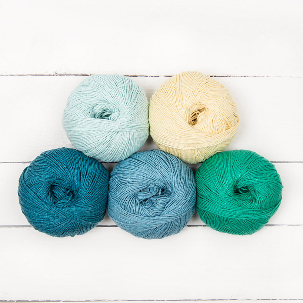 MillaMia Naturally Soft Cotton Ombre Color Pack