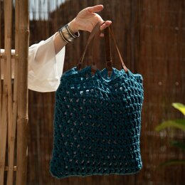 Tiago Bag in Hoooked Eco Barbante - Downloadable PDF