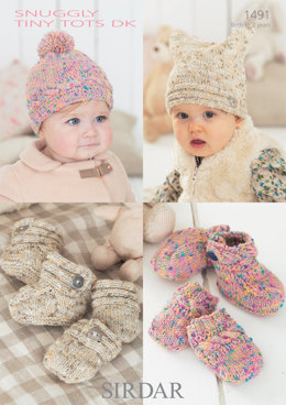 Accessories in Sirdar Snuggly Tiny Tots DK - 1491 - Downloadable PDF