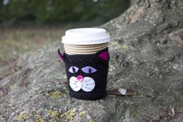 Black Cat Cup Cosy