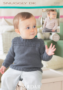 Sweaters in Sirdar Snuggly DK - 1310 - Downloadable PDF