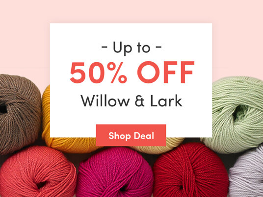 Up to 50 percent off Willow & Lark. Today only!