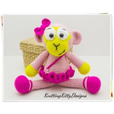 Crochet Kitty Ballerina Amigurumi & Hat - Free Pattern ... | 390x390