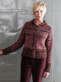 Bellam Cardigan in Berroco Boboli Lace