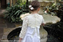 Patons Smoothie DK Girls lace shrug