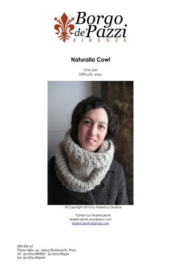 Naturalia Cowl in Borgo de' Pazzi – Firenze Naturalia - Downloadable PDF