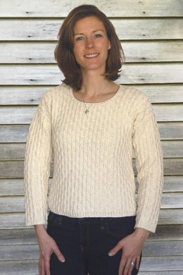 Boxy Sweater to Knit