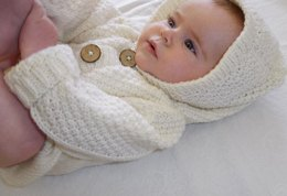Baby Cardigan with Hood - P062