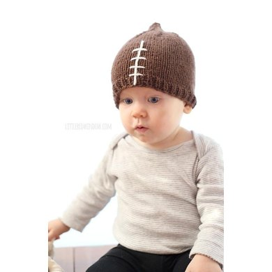 Baby Football Hat Knitting pattern by Cassandra May