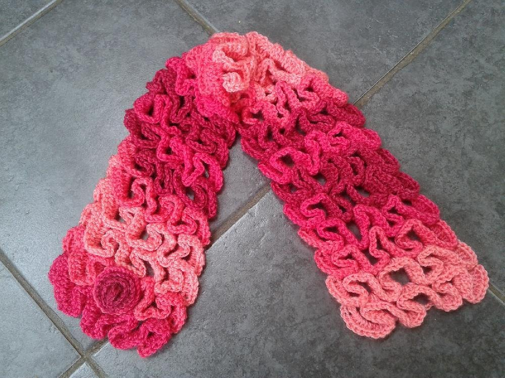 Snake Scarf Knitting Pattern : Snake Stitch Neck Warmer or Scarf Crochet pattern by Laura Tegg Crochet Pat...