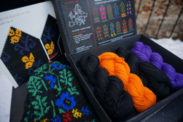 Knit Like a Latvian Knitting Kit - Winter Flowers