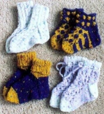 A Bevy of Baby Socks