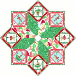 Michael Miller Fabrics Hollywood Pixie Tree Skirt - Downloadable PDF