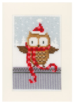Vervaco Christmas Buddies (Greetings Cards) Pack of 3 Cross Stitch Kit - 10cm x 15cm