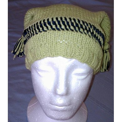 Simple Surprise Jester Hat with Tassels