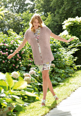 Sleeveless Cardigan in Bergere de France Cabourg - 15 - Downloadable PDF