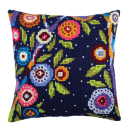 Collection D'Art In Blossom Cushion Cross Stitch Kit