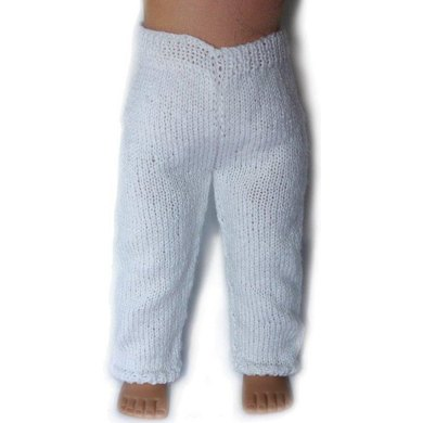 Leggings For 18 Inch Dolls Knitting Pattern By Doll Tag Clothing