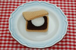 Crochet Pattern for 'Smores - Crocheted Play / Toy Food