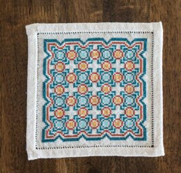 Avlea Folk Embroidery Bitkit Salerno Tile - Downloadable PDF