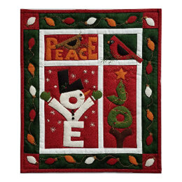 Rachel's Of Greenfield Love, Joy, Peace Quilt Kit