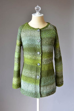 Mossbank Cardigan in Universal Yarn Major - Downloadable PDF