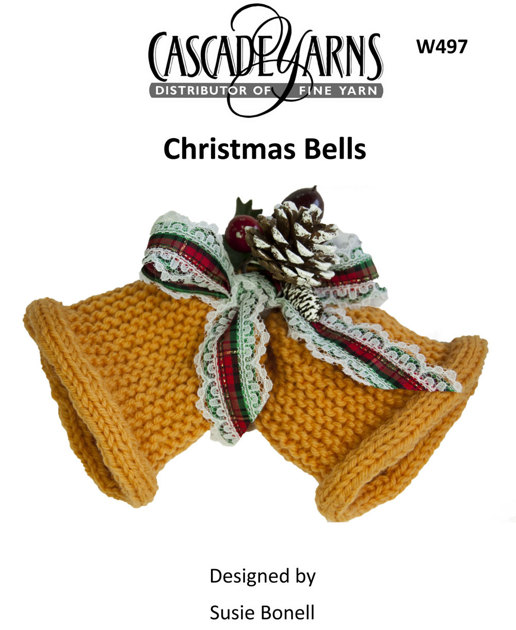 Knitting Pattern Christmas Bells : Christmas Bells in Cascade 220 - W497 Knitting Patterns LoveKnitting