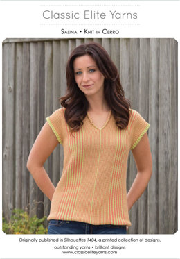 Salina Pullover in Classic Elite Yarns Cerro - Downloadable PDF