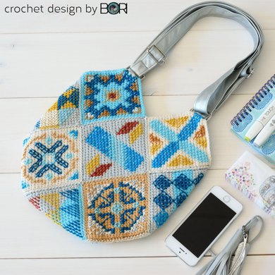 Portuguese Bag 008 Crochet Pattern By Bori Varga