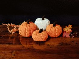 Cabled Pumpkins
