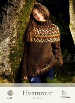 Hvammur Sweater in Lopi Alafosslopi - Lopi 37-4 - Downloadable PDF