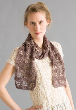 Crocheted Scarf in Classic Elite Yarns Fortuna