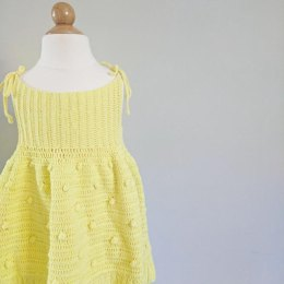 Louise crochet Dress