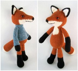 Bracken the Fox Amigurumi