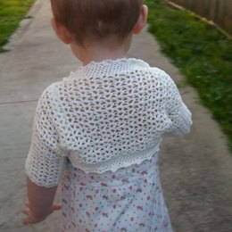 Victorian Shrug - Baby to Adult