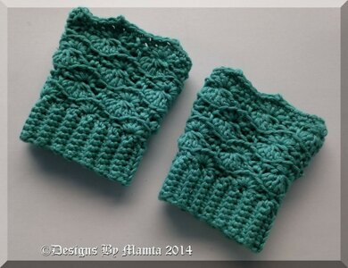 Easy Crochet Boot Cuffs Pattern Legwarmer