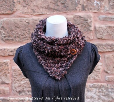 Soft Boucle Scarf Knitting Pattern By Laurimuks Patterns