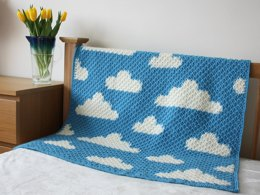 Fluffy White Clouds - the crochet version