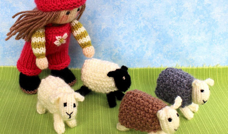 Bo Peep and her Sheep by Dollytime