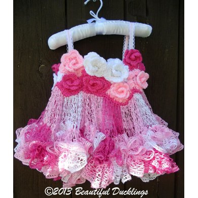 Rose Fairy Tutu Dress