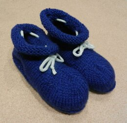 Adult Bootee Slippers
