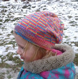 Banded Loom Hat