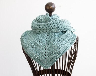 Long Triangle Scarf