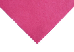 Groves Acrylic Felt Piece 9 x 12 inches Shocking Pink