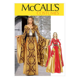 McCall's Misses' Dresses and Belts M6940 - Sewing Pattern