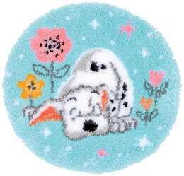 Vervaco Disney - Little Dalmation Latch Hook Rug Kit - Multi