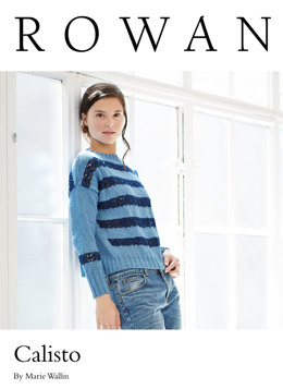 Calisto Sweater in Rowan Original Denim - Exclusive to LoveKnitting